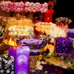 Bride loved purple