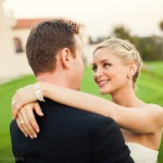 Heather and Scott at Riviera Country Club